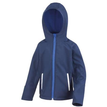 Junior Hooded Soft Shell Jacket von Result Core (Artnum: RT224J