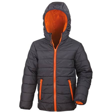 Core Youth Padded Jacket von Result Core (Artnum: RT233Y