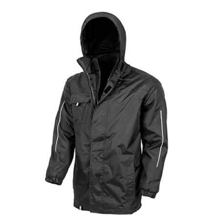 3-in-1 Transit Jacket with Softshell Inner von Result Core (Artnum: RT236