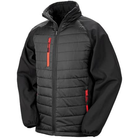 Black Compass Softshell Jacket von Result (Artnum: RT237