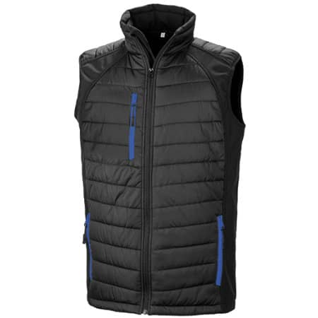 Black Compass Softshell Gilet von Result (Artnum: RT238