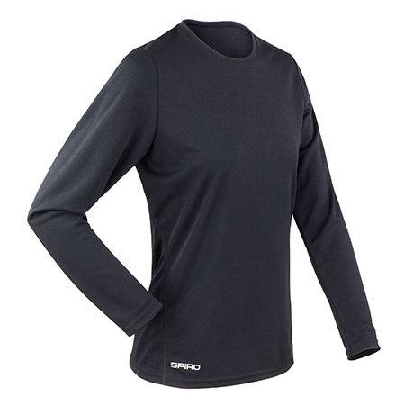Ladies` Quick Dry Shirt RT254F in Black von SPIRO (Artnum: RT254F