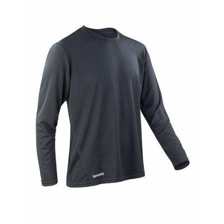 Men`s Quick Dry Shirt 254 in Black von SPIRO (Artnum: RT254M
