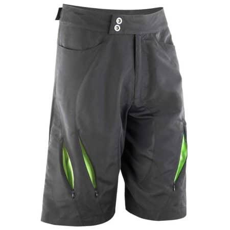Bikewear Off Road Shorts in Black|Lime von SPIRO (Artnum: RT264