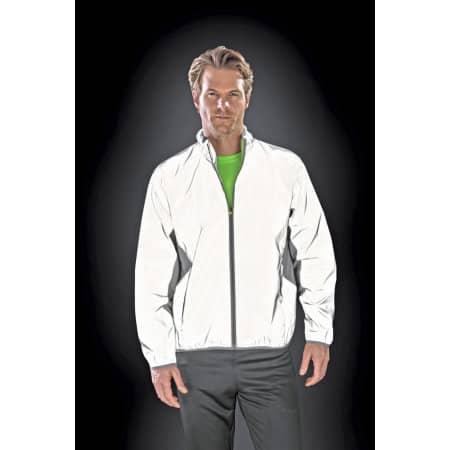 Luxe Reflectex Hi-Vis Jacket von SPIRO (Artnum: RT266