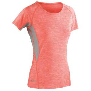 Fitness Women`s Tech Panel Marl T-Shirt