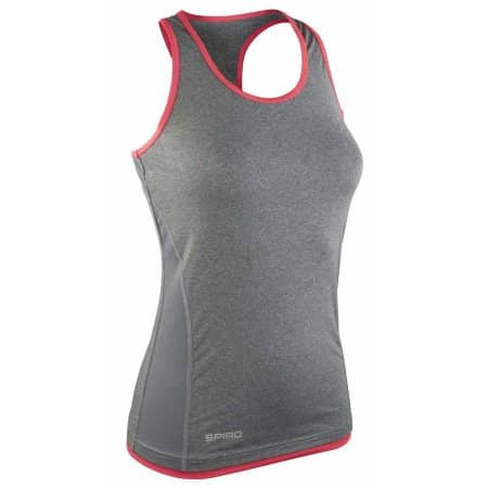 Women`s Stringer Back Marl Top von SPIRO (Artnum: RT272F