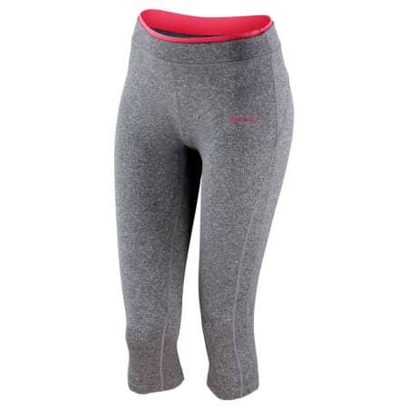 Fitness Women`s Capri Pant von SPIRO (Artnum: RT273F