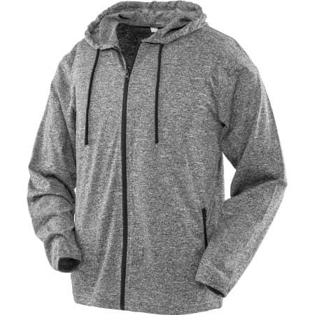 Mens Hooded Tee-Jacket von SPIRO (Artnum: RT277M