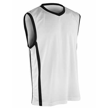 Basketball Men`s Quick Dry Top von SPIRO (Artnum: RT278