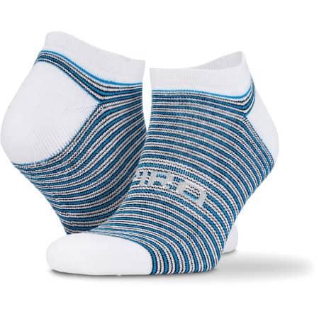 3-Pack Mixed Stripe Coolmax Sneaker Socks von SPIRO (Artnum: RT295