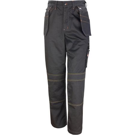 Work-Guard Lite X-Over Holster Trouser in Black von WORK-GUARD (Artnum: RT323