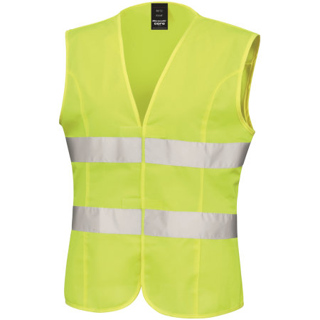 Women`s High Viz Tabard von Result Core (Artnum: RT334F