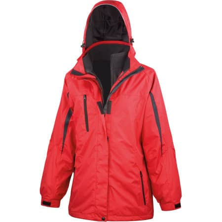 Ladies` 3 in 1 Softshell Journey Jacket von Result (Artnum: RT400F