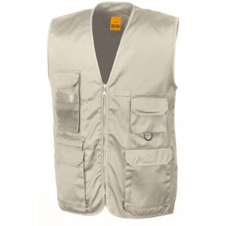 Safari Vest von WORK-GUARD (Artnum: RT45
