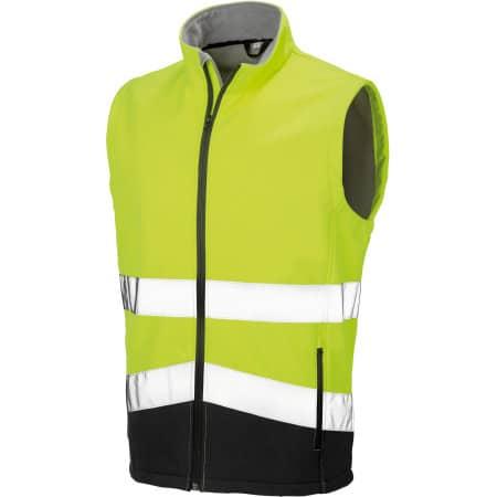 Printable Safety Softshell Gilet von Result (Artnum: RT451