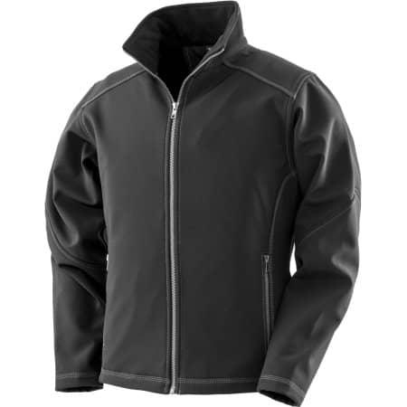 Women´s Treble Stitch Softshell Jacket von WORK-GUARD (Artnum: RT455F