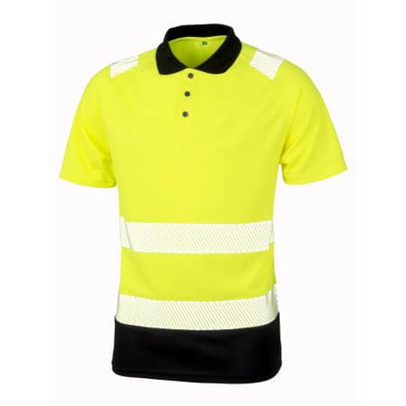 Recycled Safety Polo Shirt von Result Genuine Recycled (Artnum: RT501