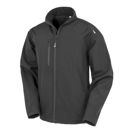 Recycled 3-Layer Printable Softshell Jacket von Result Genuine Recycled (Artnum: RT900