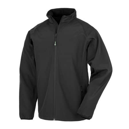 Mens Recycled 2-Layer Printable Softshell Jacket von Result Genuine Recycled (Artnum: RT901