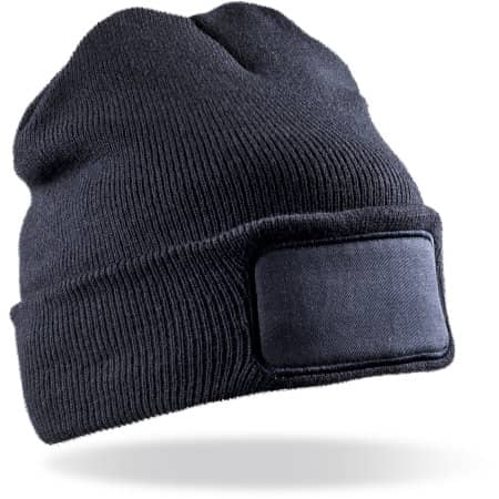 Recycled Thinsulate™ Printers Beanie von Result Genuine Recycled (Artnum: RT934