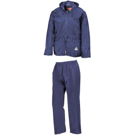 Waterproof Jacket & Trouser Set in Royal von Result (Artnum: RT95A