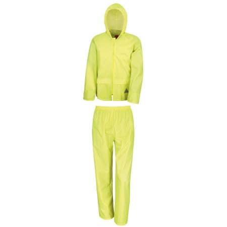Waterproof Jacket & Trouser Set von Result (Artnum: RT95A