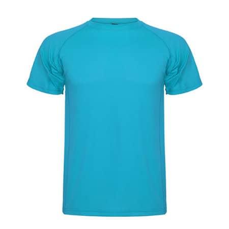 Montecarlo T-Shirt in Turquoise von Roly (Artnum: RY0425