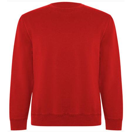 Batian Organic Sweatshirt in Red 60 von Roly Eco (Artnum: RY1071