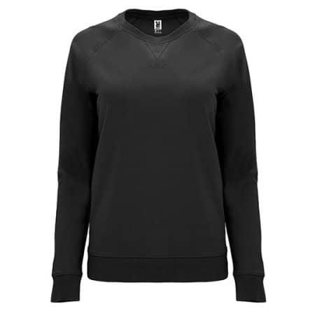 Annapurna Woman Sweatshirt in Black von Roly (Artnum: RY1111