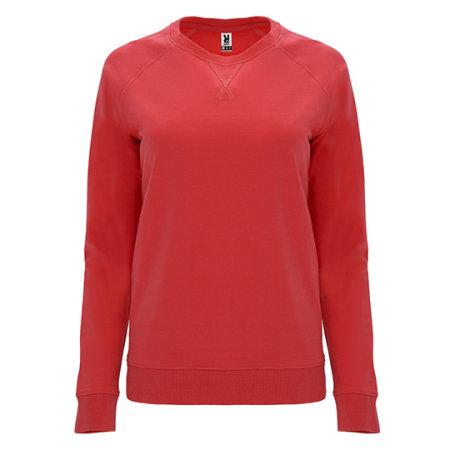Annapurna Woman Sweatshirt in Red von Roly (Artnum: RY1111