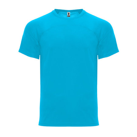 Monaco T-Shirt in Turquoise von Roly (Artnum: RY6401