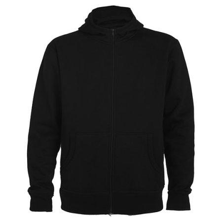 Montblanc Hooded Sweatjacket in Black von Roly (Artnum: RY6421
