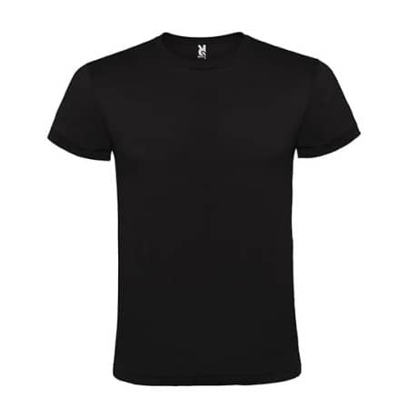 Atomic 150 T-Shirt in Black von Roly (Artnum: RY6424