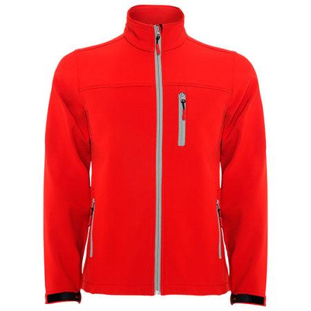 Antartida Softshell Jacket in Red von Roly (Artnum: RY6432