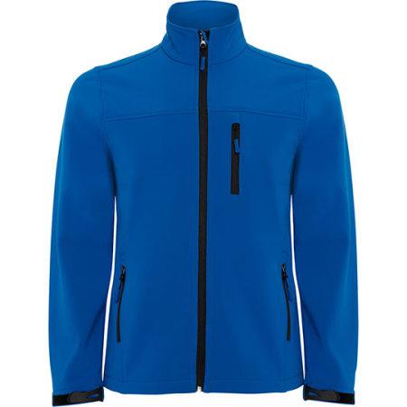 Antartida Softshell Jacket in Royal Blue von Roly (Artnum: RY6432
