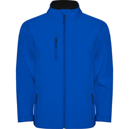 Nebraska Softshell Jacket in Royal Blue von Roly (Artnum: RY6436