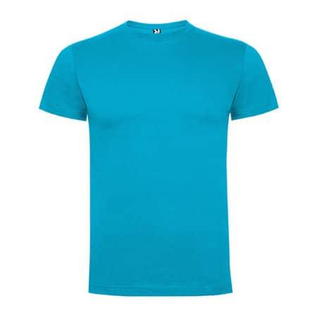Dogo Premium T-Shirt Men in Turquoise von Roly (Artnum: RY6502