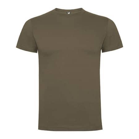 Dogo Premium T-Shirt Men in Walnut von Roly (Artnum: RY6502