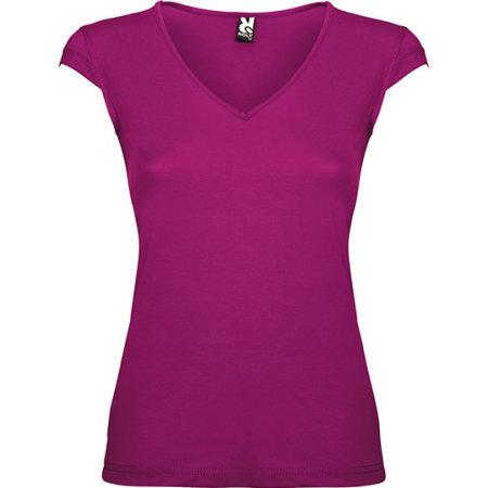 Martinica Woman T-Shirt in Dark Mallow von Roly (Artnum: RY6626