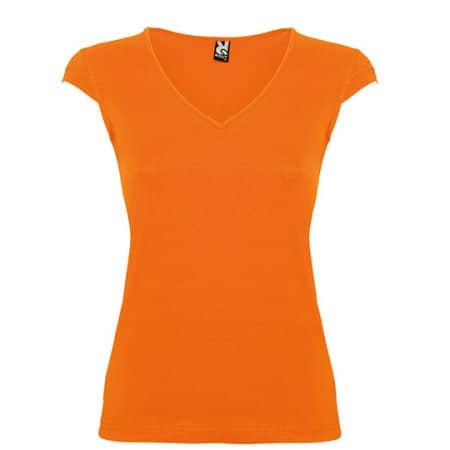 Martinica Woman T-Shirt in Orange von Roly (Artnum: RY6626