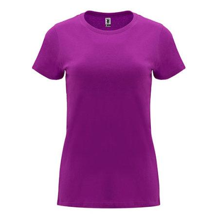 Capri Woman T-Shirt in Purple von Roly (Artnum: RY6683