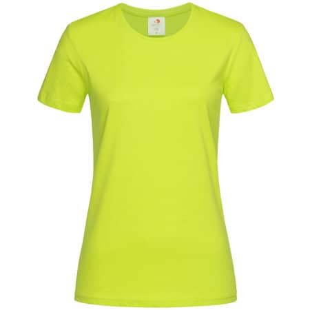 Classic-T for women in Bright Lime von Stedman® (Artnum: S141