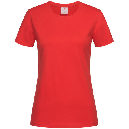 Classic-T for women in Scarlet Red von Stedman® (Artnum: S141