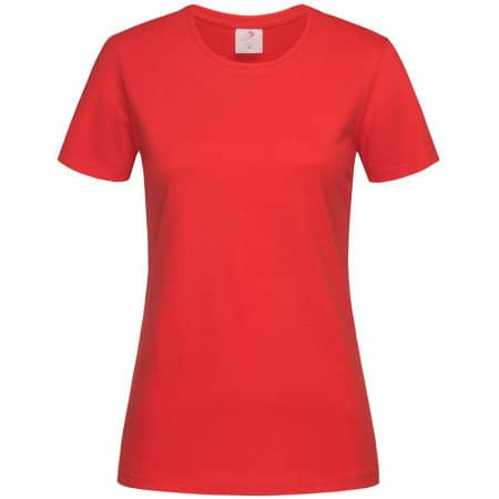 Classic-T for women in Scarlet Red von Stedman® (Artnum: S141
