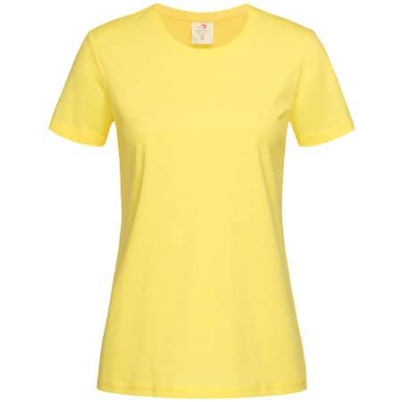 Classic-T for women in Yellow von Stedman® (Artnum: S141
