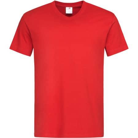 Classic-T V-Neck in Scarlet Red von Stedman® (Artnum: S270