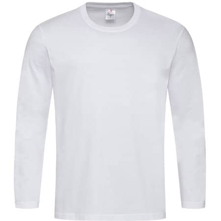 Comfort-T Long Sleeve in White von Stedman® (Artnum: S290