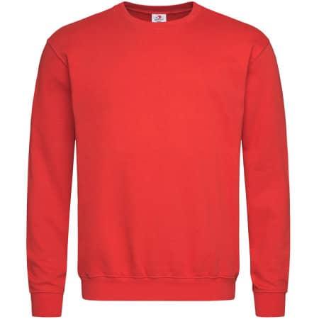 Sweatshirt in Scarlet Red von Stedman® (Artnum: S320