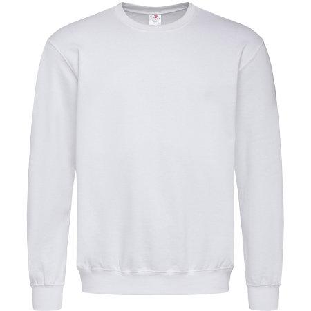 Sweatshirt in White von Stedman® (Artnum: S320